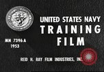 Image of sailors United States USA, 1953, second 8 stock footage video 65675061074