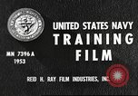 Image of sailors United States USA, 1953, second 9 stock footage video 65675061074