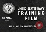 Image of sailors United States USA, 1953, second 10 stock footage video 65675061074