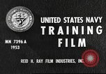 Image of sailors United States USA, 1953, second 11 stock footage video 65675061074