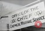 Image of Chemical Warfare Service and Major General William N Porter United States USA, 1944, second 37 stock footage video 65675061087