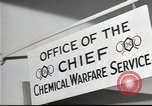 Image of Chemical Warfare Service and Major General William N Porter United States USA, 1944, second 38 stock footage video 65675061087