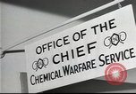 Image of Chemical Warfare Service and Major General William N Porter United States USA, 1944, second 39 stock footage video 65675061087