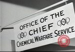 Image of Chemical Warfare Service and Major General William N Porter United States USA, 1944, second 40 stock footage video 65675061087