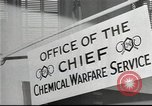 Image of Chemical Warfare Service and Major General William N Porter United States USA, 1944, second 41 stock footage video 65675061087
