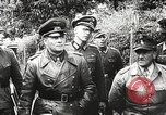 Image of German General Eugen Meidl European Theater, 1944, second 17 stock footage video 65675061102