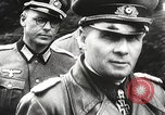 Image of German General Eugen Meidl European Theater, 1944, second 21 stock footage video 65675061102