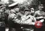 Image of German General Eugen Meidl European Theater, 1944, second 27 stock footage video 65675061102
