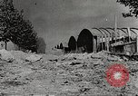 Image of damaged Le Bourget airfield Paris France, 1944, second 6 stock footage video 65675061109