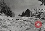 Image of damaged Le Bourget airfield Paris France, 1944, second 7 stock footage video 65675061109