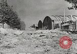 Image of damaged Le Bourget airfield Paris France, 1944, second 8 stock footage video 65675061109
