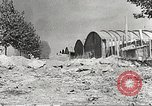 Image of damaged Le Bourget airfield Paris France, 1944, second 12 stock footage video 65675061109