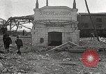 Image of damaged Le Bourget airfield Paris France, 1944, second 21 stock footage video 65675061109