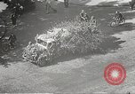 Image of damaged Le Bourget airfield Paris France, 1944, second 39 stock footage video 65675061109