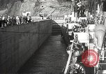 Image of freighter Charles L Wheeler Bonneville Oregon USA, 1938, second 40 stock footage video 65675061115
