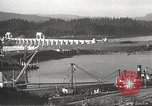 Image of freighter Charles L Wheeler Bonneville Oregon USA, 1938, second 45 stock footage video 65675061115