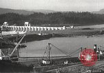 Image of freighter Charles L Wheeler Bonneville Oregon USA, 1938, second 46 stock footage video 65675061115