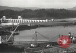 Image of freighter Charles L Wheeler Bonneville Oregon USA, 1938, second 47 stock footage video 65675061115