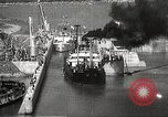 Image of freighter Charles L Wheeler Bonneville Oregon USA, 1938, second 52 stock footage video 65675061115