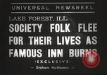 Image of Deer Path Inn Lake Forest Illinois USA, 1938, second 2 stock footage video 65675061118