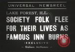 Image of Deer Path Inn Lake Forest Illinois USA, 1938, second 4 stock footage video 65675061118