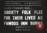 Image of Deer Path Inn Lake Forest Illinois USA, 1938, second 5 stock footage video 65675061118