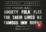 Image of Deer Path Inn Lake Forest Illinois USA, 1938, second 6 stock footage video 65675061118
