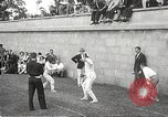 Image of fencers Montreal Quebec Canada, 1938, second 12 stock footage video 65675061119