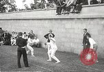 Image of fencers Montreal Quebec Canada, 1938, second 13 stock footage video 65675061119
