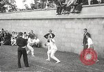 Image of fencers Montreal Quebec Canada, 1938, second 14 stock footage video 65675061119