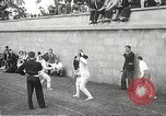 Image of fencers Montreal Quebec Canada, 1938, second 18 stock footage video 65675061119