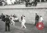 Image of fencers Montreal Quebec Canada, 1938, second 20 stock footage video 65675061119