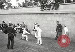Image of fencers Montreal Quebec Canada, 1938, second 21 stock footage video 65675061119