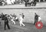 Image of fencers Montreal Quebec Canada, 1938, second 22 stock footage video 65675061119