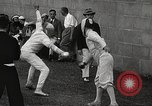 Image of fencers Montreal Quebec Canada, 1938, second 40 stock footage video 65675061119