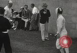 Image of fencers Montreal Quebec Canada, 1938, second 41 stock footage video 65675061119