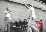 Image of fencers Montreal Quebec Canada, 1938, second 45 stock footage video 65675061119