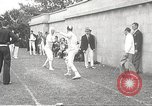Image of fencers Montreal Quebec Canada, 1938, second 49 stock footage video 65675061119