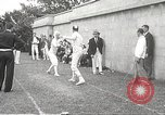 Image of fencers Montreal Quebec Canada, 1938, second 51 stock footage video 65675061119
