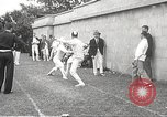Image of fencers Montreal Quebec Canada, 1938, second 52 stock footage video 65675061119