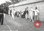 Image of fencers Montreal Quebec Canada, 1938, second 54 stock footage video 65675061119