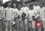 Image of fencers Montreal Quebec Canada, 1938, second 58 stock footage video 65675061119
