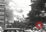 Image of burning building Camden New Jersey USA, 1940, second 8 stock footage video 65675061126
