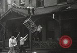 Image of burning building Camden New Jersey USA, 1940, second 24 stock footage video 65675061126