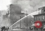 Image of burning building Camden New Jersey USA, 1940, second 34 stock footage video 65675061126