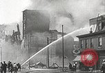 Image of burning building Camden New Jersey USA, 1940, second 35 stock footage video 65675061126
