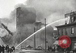 Image of burning building Camden New Jersey USA, 1940, second 37 stock footage video 65675061126