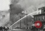 Image of burning building Camden New Jersey USA, 1940, second 38 stock footage video 65675061126