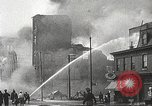 Image of burning building Camden New Jersey USA, 1940, second 39 stock footage video 65675061126