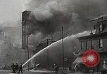 Image of burning building Camden New Jersey USA, 1940, second 54 stock footage video 65675061126